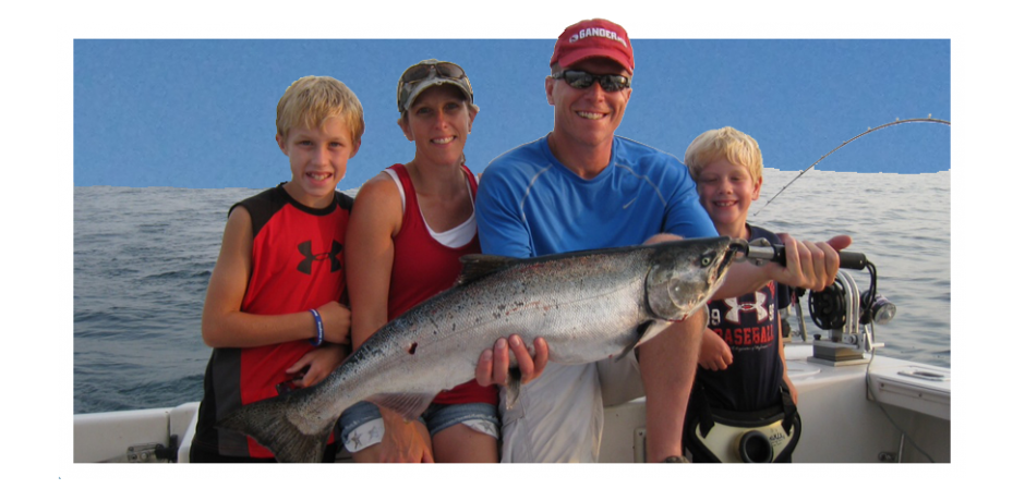 Ludington charter boat association for Ludington fishing report